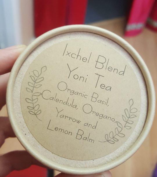 ixhel Yoni steam blend for vaginal steam